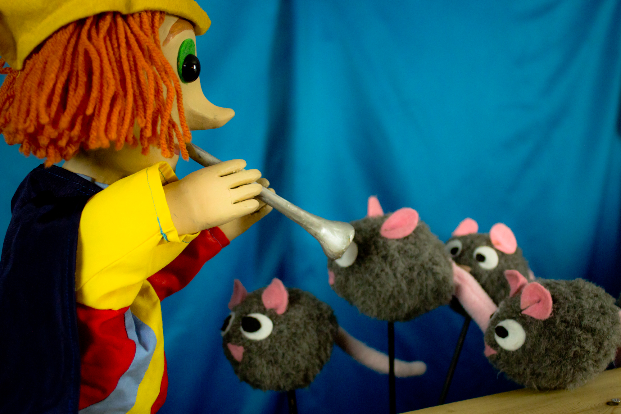 """""""The Pied Piper of Hamelin"""" by CactusHead Puppets- November 10-13, 2016"""