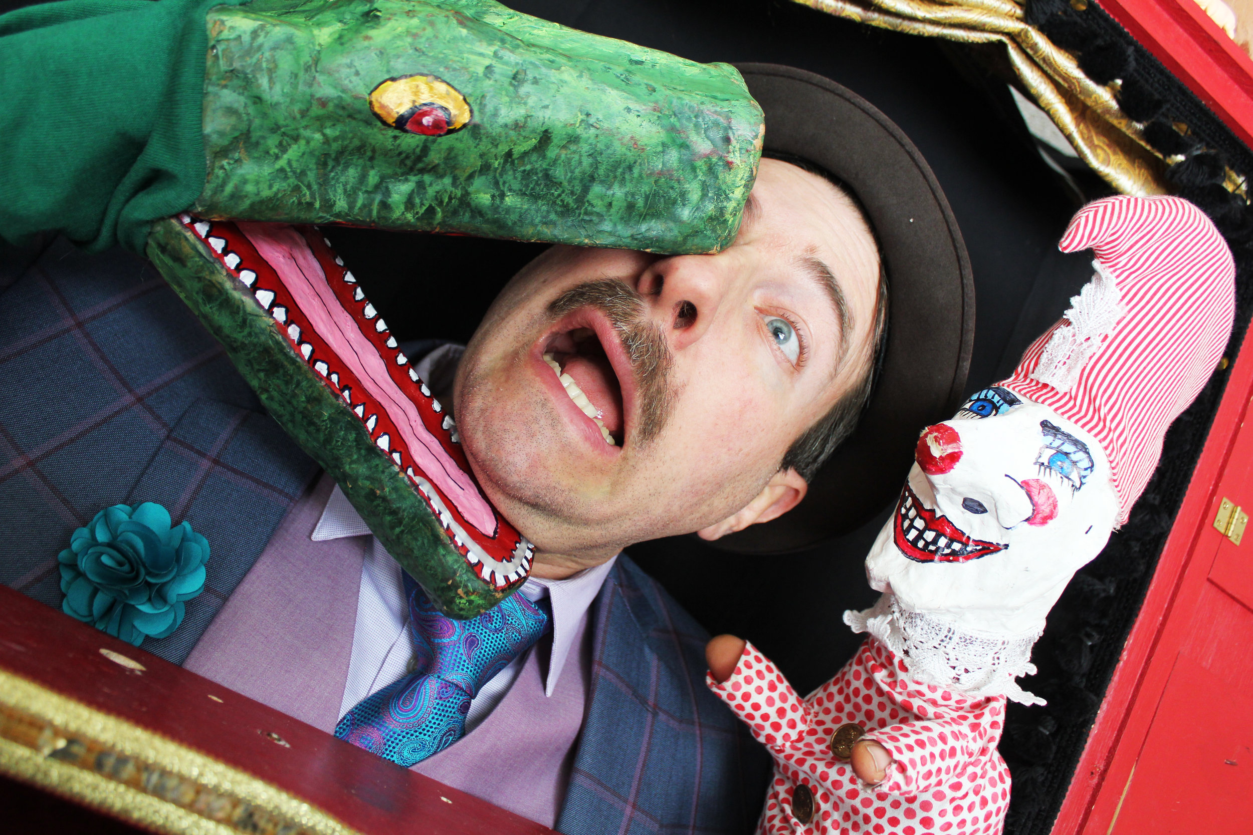 """Modern Times Theater presents """"The Perils of Mr. Punch!"""""""