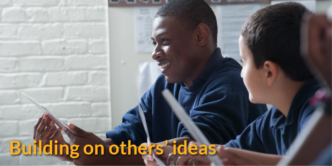 Building on others' ideas