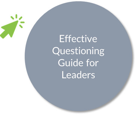 Effective questioning guide for leaders