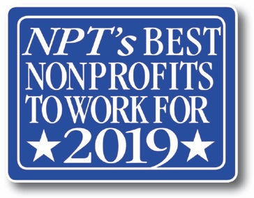 "A ""best nonprofit to work for"" for the third year!"
