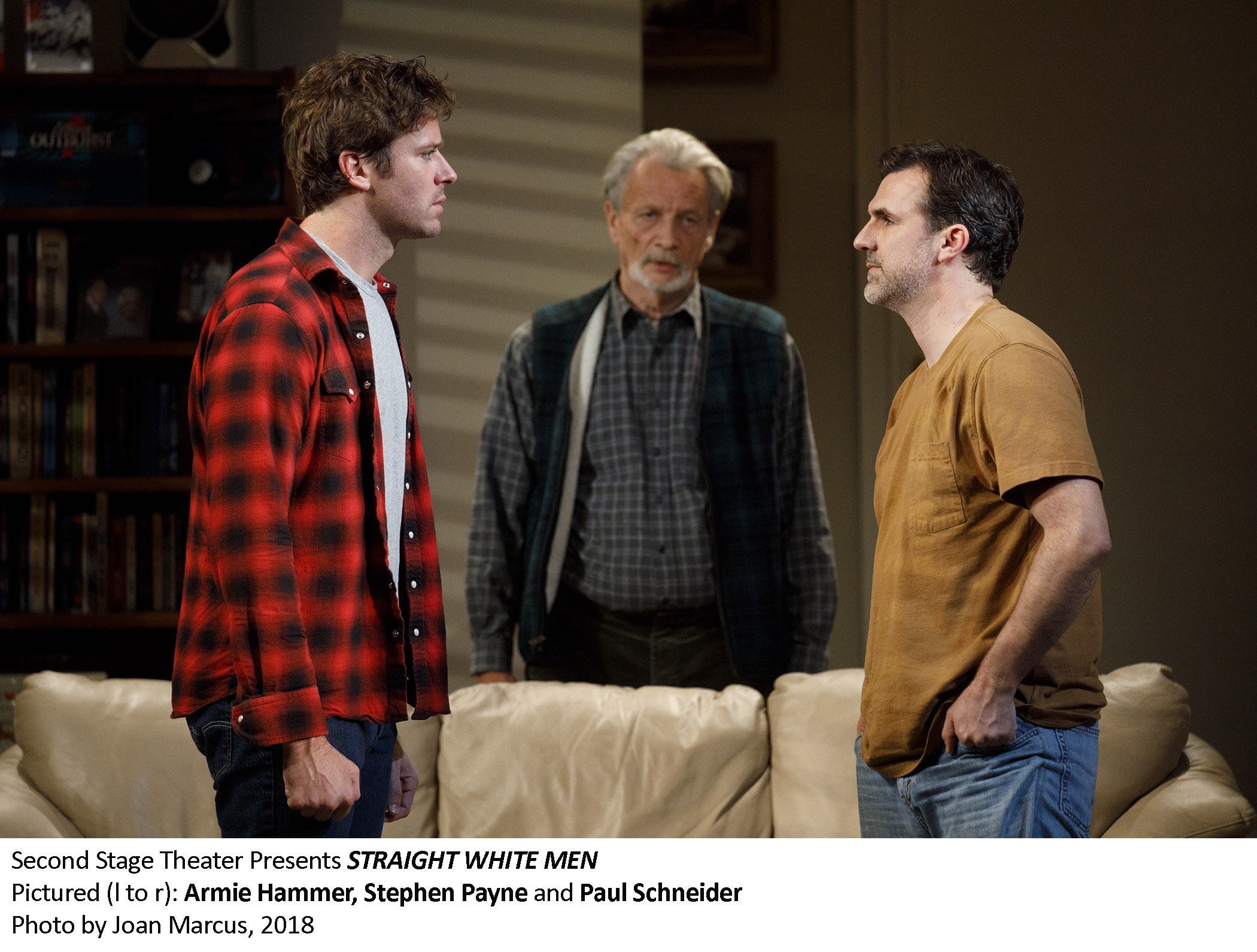0159_Armie Hammer, Stephen Payne and Paul Schneider in STRAIGHT WHITE MEN, Photo by Joan Marcus, 2018.jpg