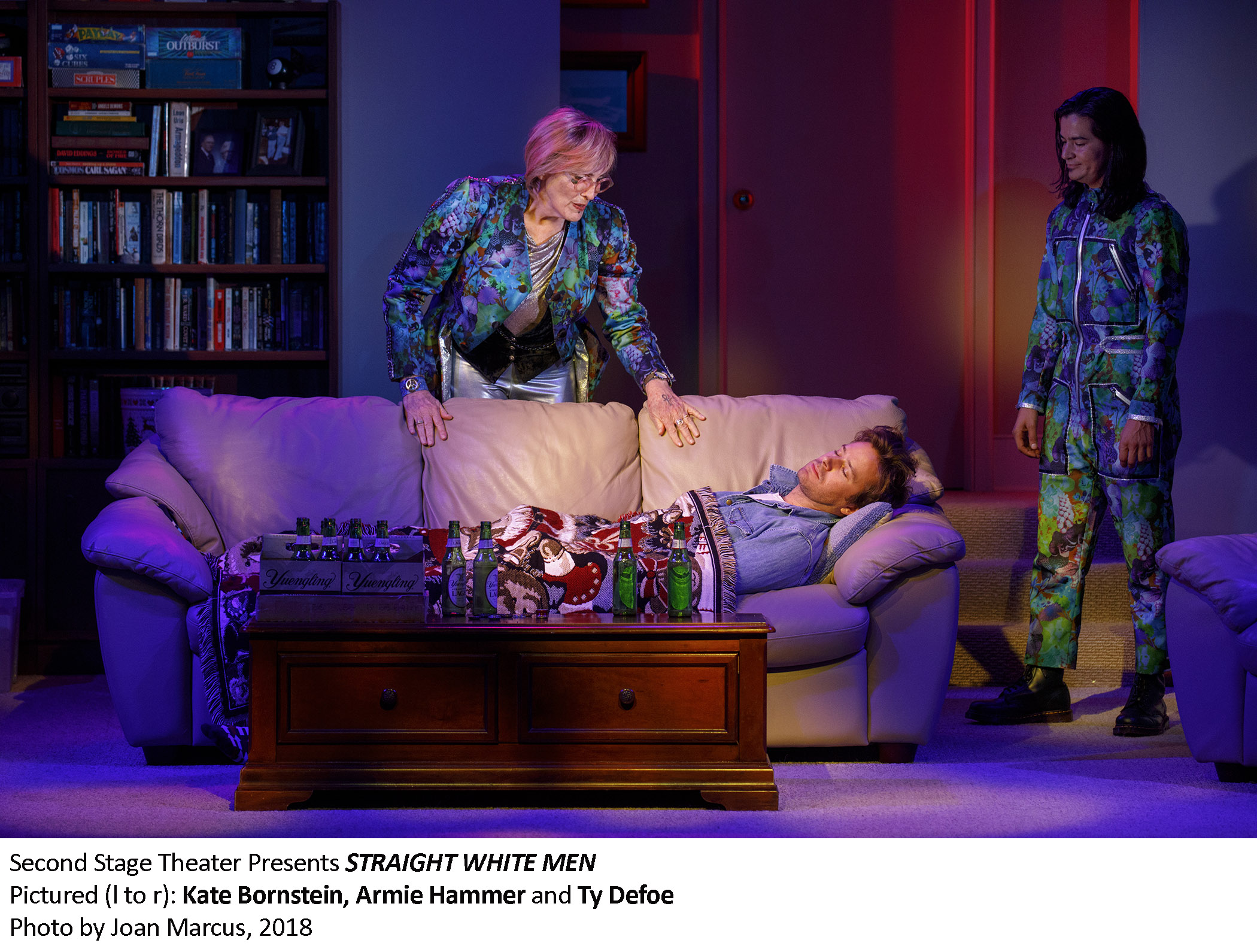 0139_Kate Bornstein, Armie Hammer and Ty Defoe in STRAIGHT WHITE MEN, Photo by Joan Marcus, 2018.jpg