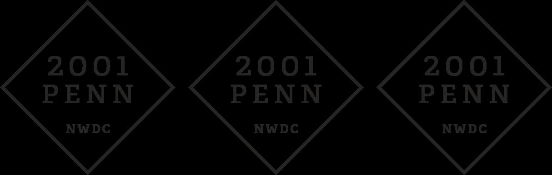 2001 Penn Logo Triple Bronze.png