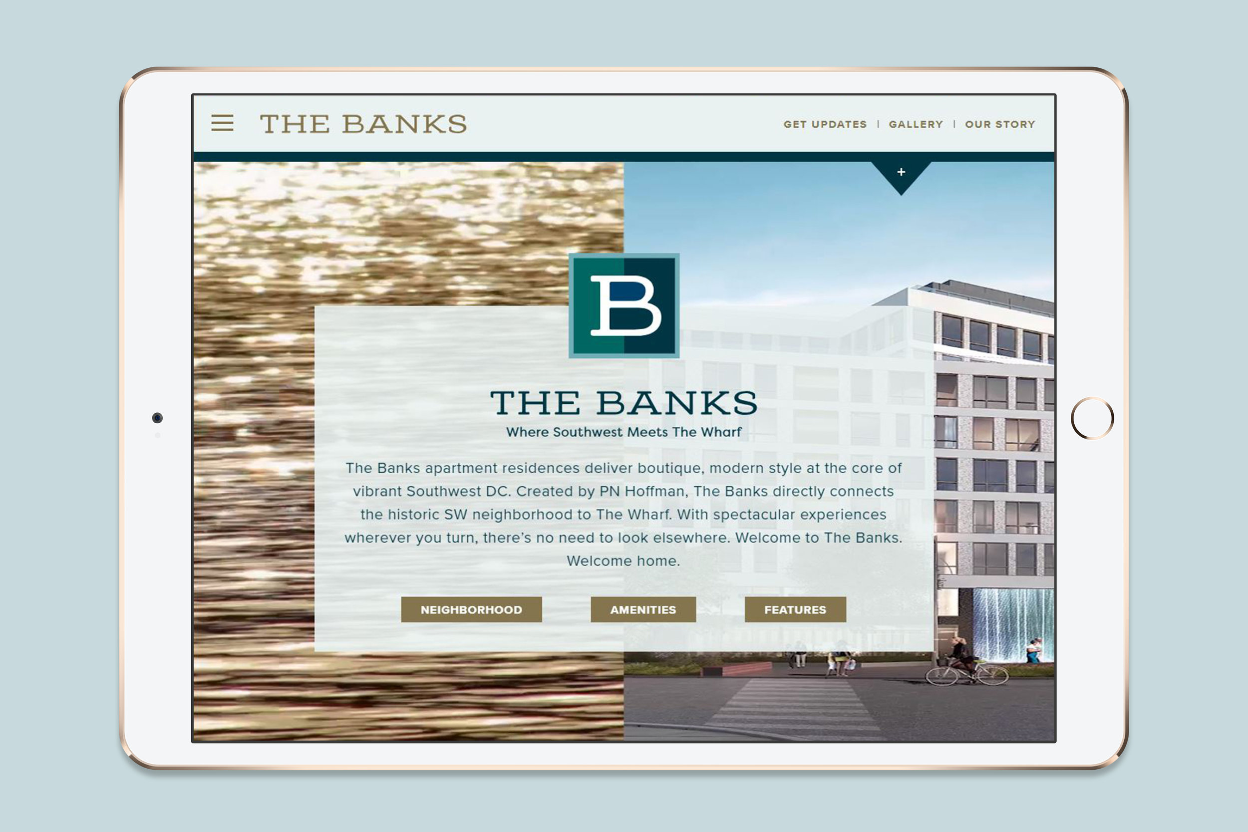 The Banks Website