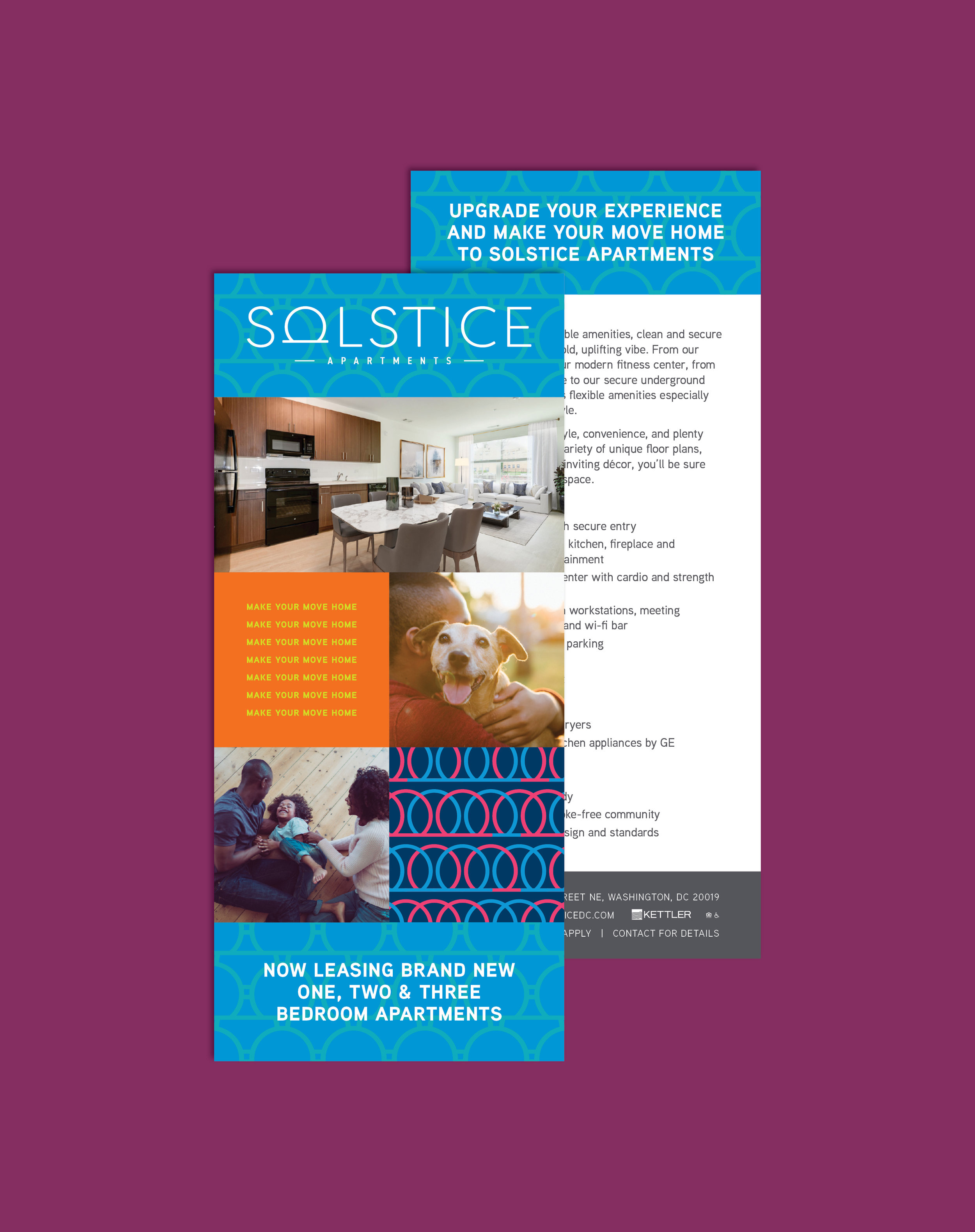 Solstice Rack Card