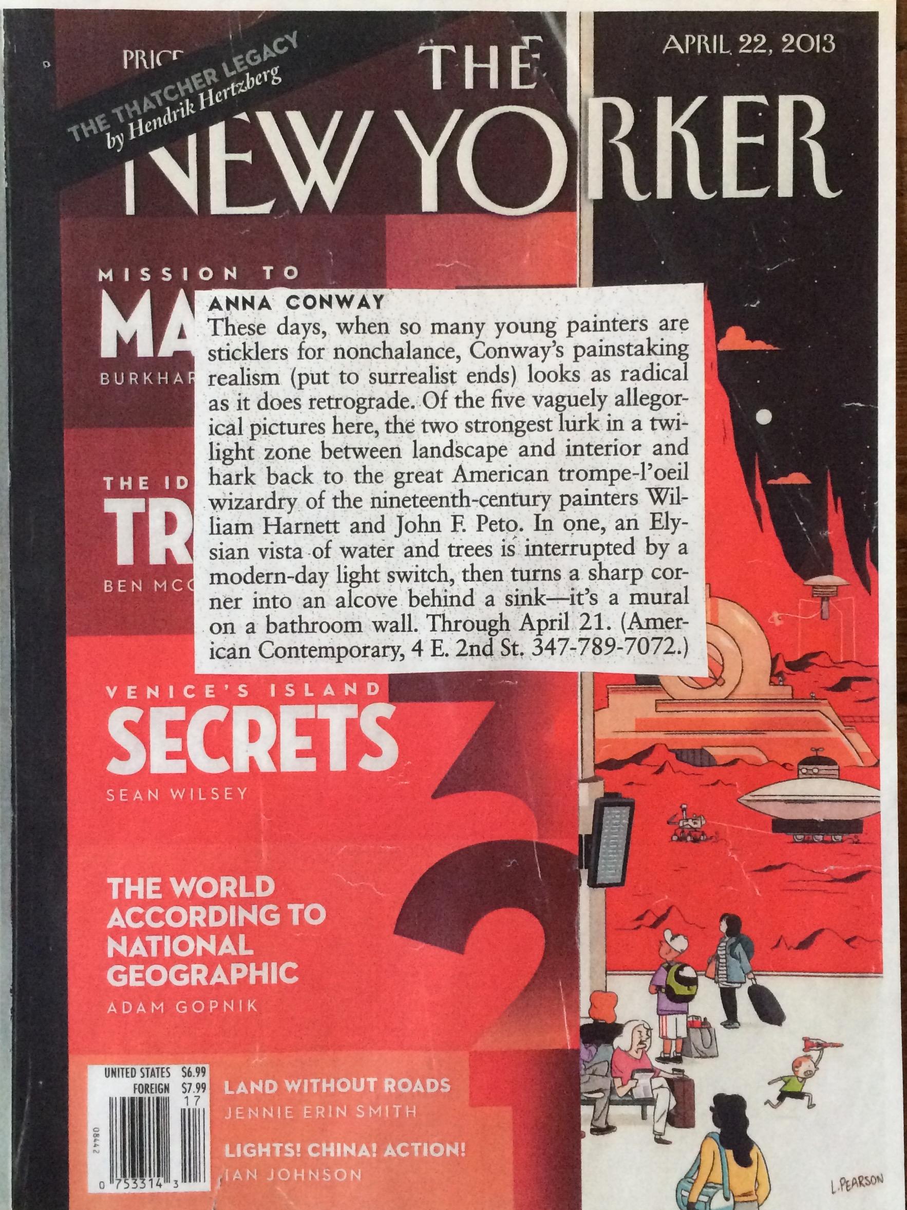New Yorker, April 2013