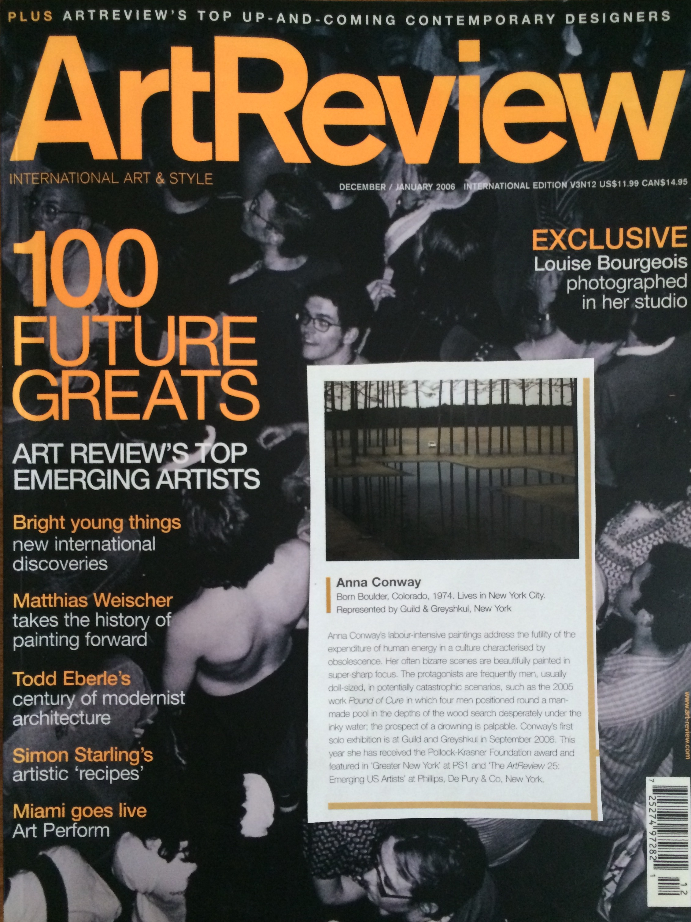 ArtReview, January 2006