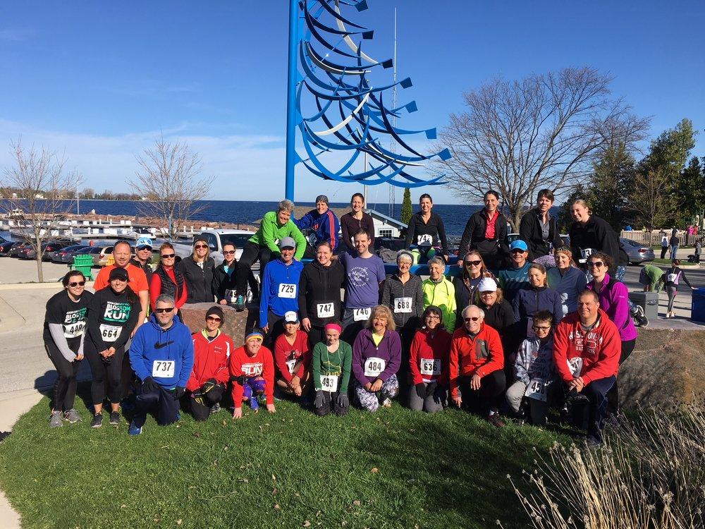 As always, Run the Door had a great turnout for the 2018 YMCA Blossom Run 5-mile and 2-mile in Egg Harbor.