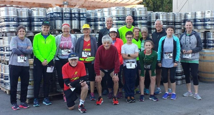 The good times were rolling and the beer was flowing at the Hey Hey 5K in Baileys Harbor!
