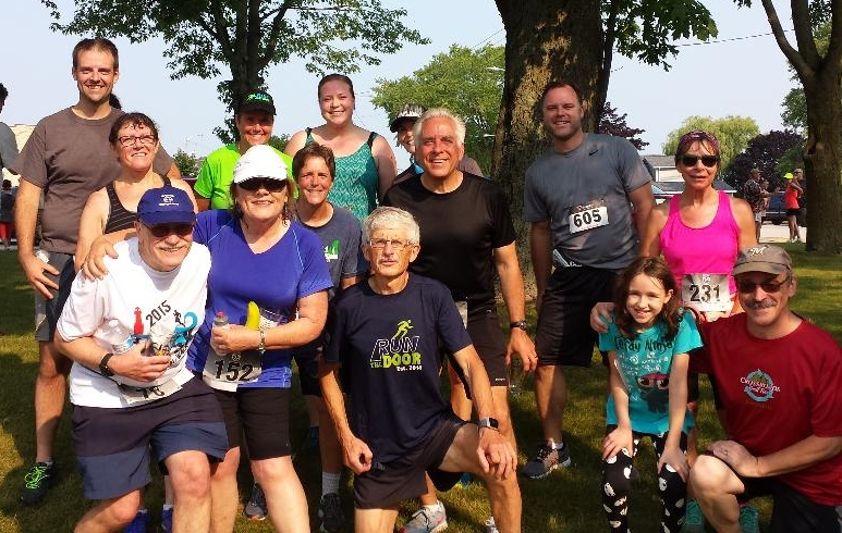 …. and there we were after the Shanty Days 5K!