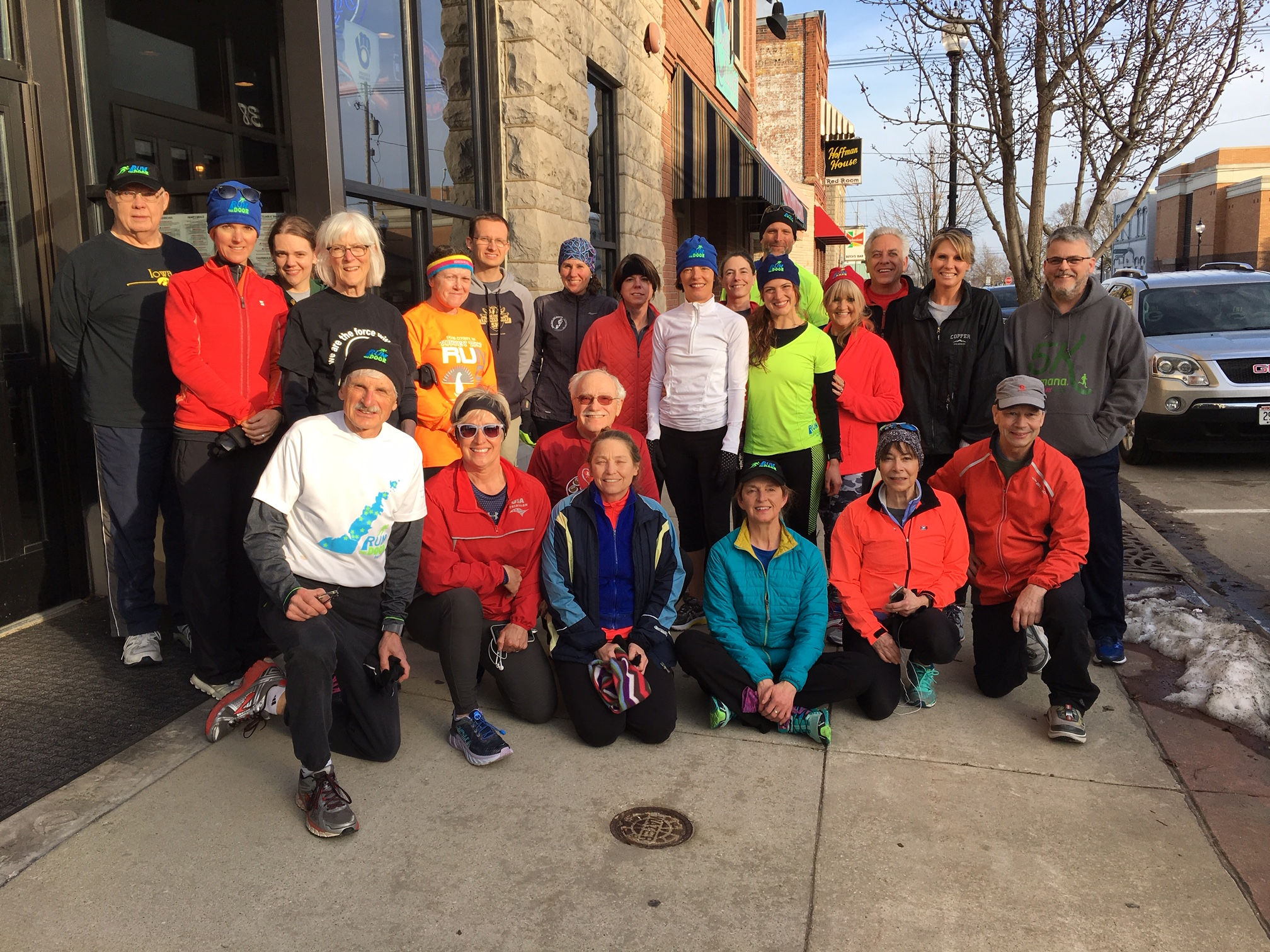 And so the 2019 season begins with a great fun run up and down Memorial Drive from the Door County Fire Company on April 16 in Sturgeon Bay.