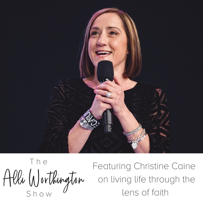 Interview with Christine Caine