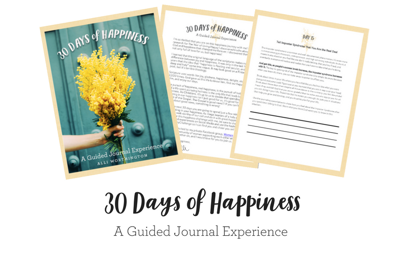 Free Guided Journal - 30 Days of Happiness