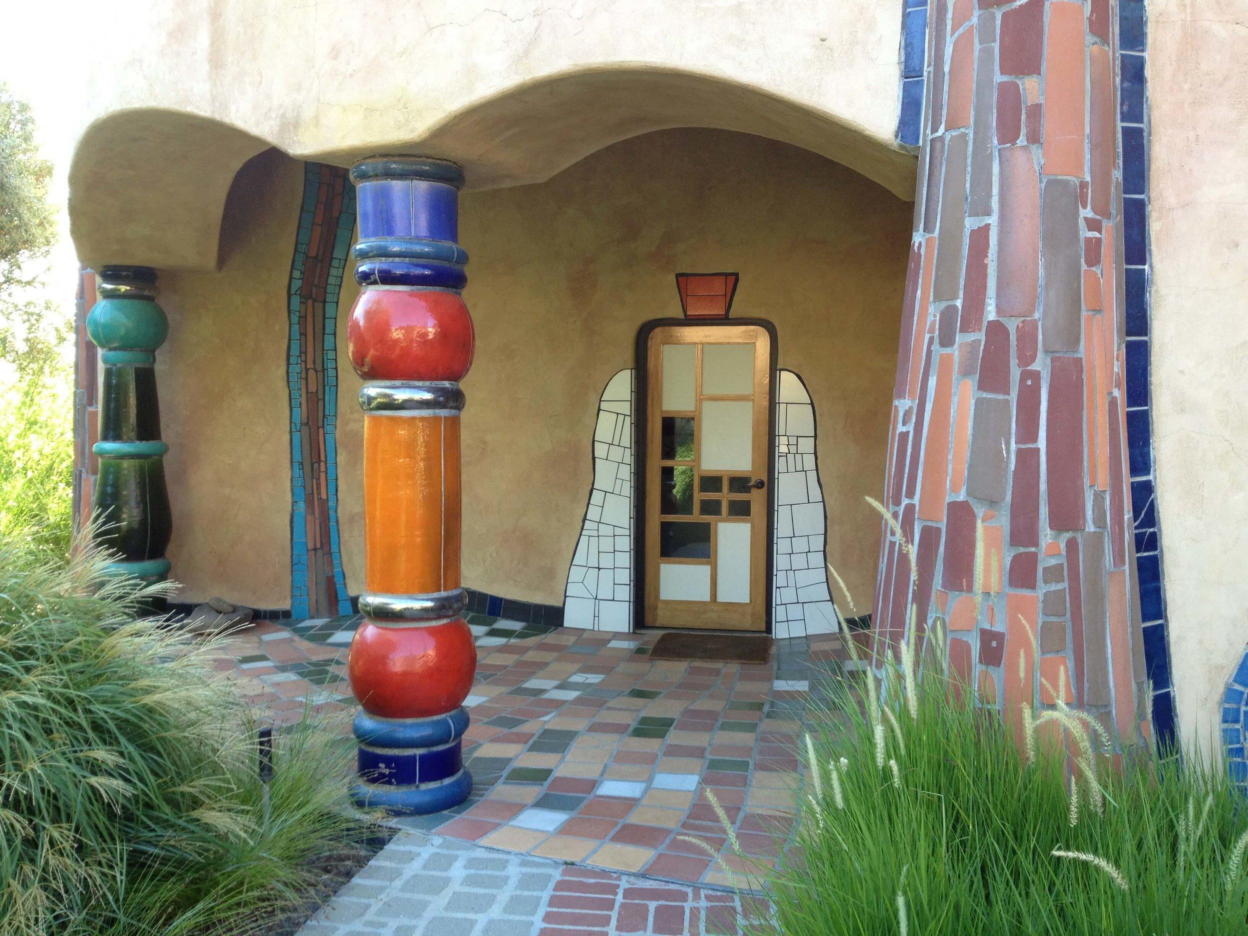 Quixote Winery designed by Hundertwasser