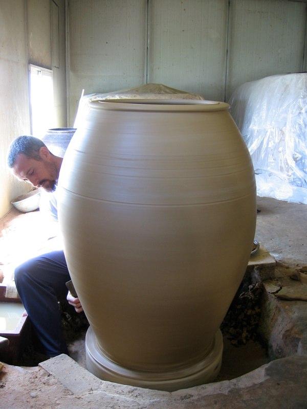 Adam Field with Large Onggi