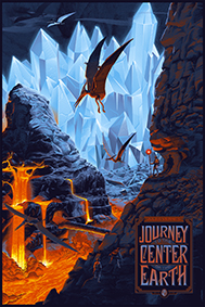 Journey to the Centre of the Earth (Regular) by Laurent Durieux