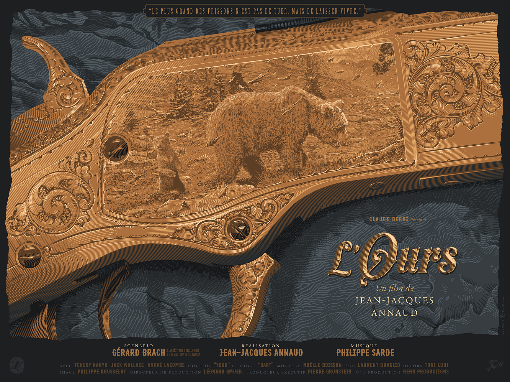 """""""L'Ours"""" by Laurent Durieux"""