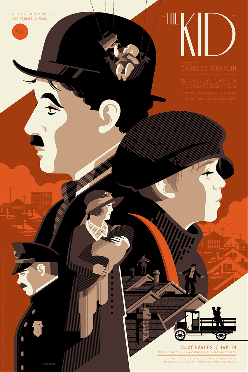 """""""The Kid""""  by Tom Whalen"""