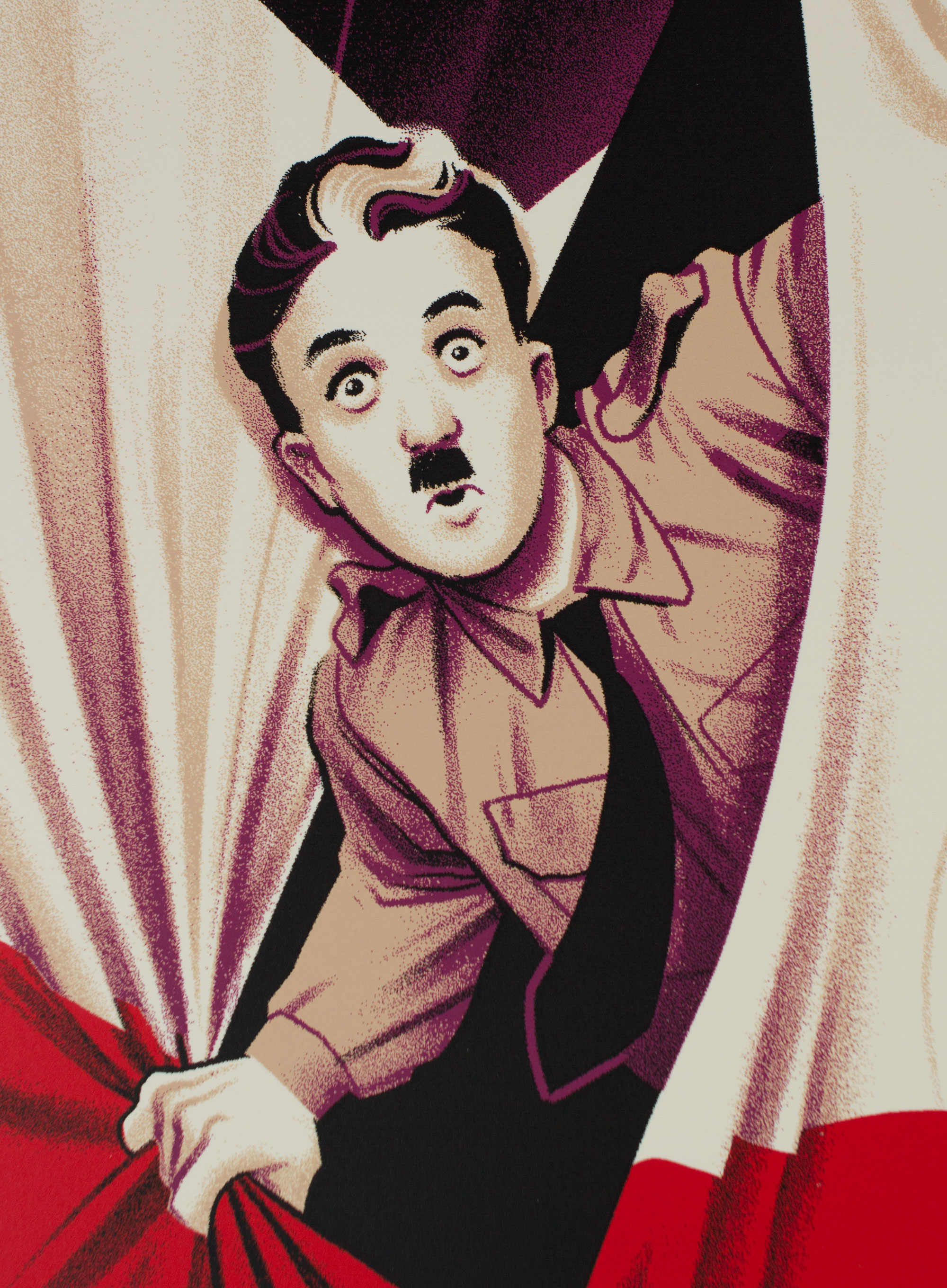"""Detail of """"The Great Dictator"""" by Justin Erickson"""