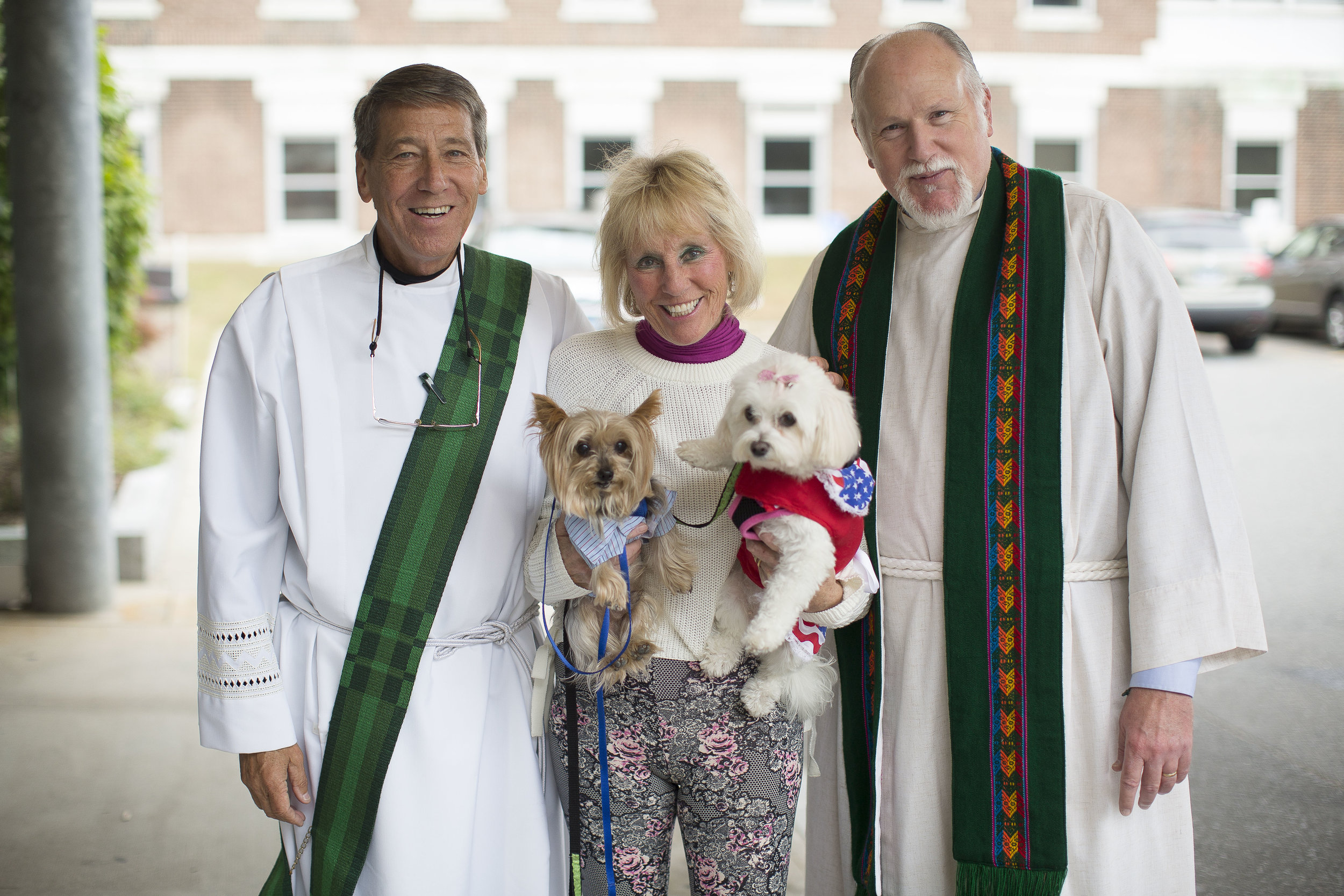 A deacon, reverend, and pet owner at Waterbury Hospital