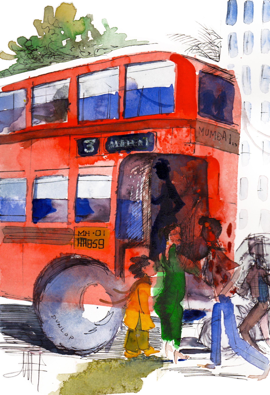 B.E.S.T. bus
