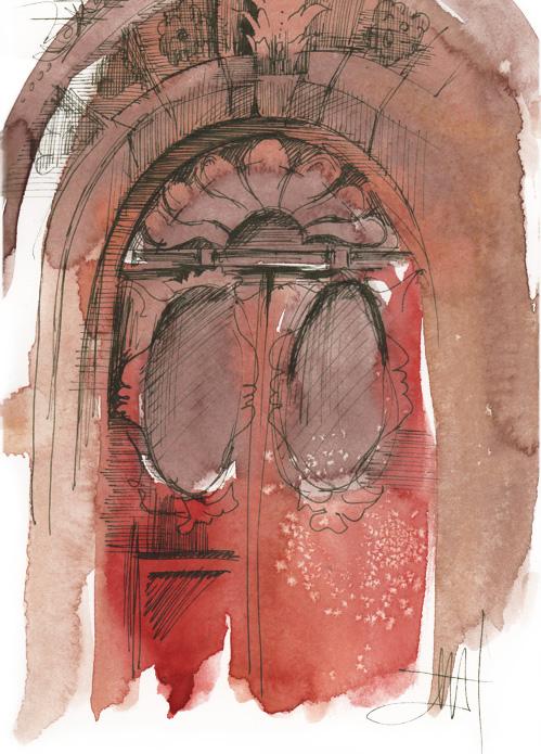 europe:  door