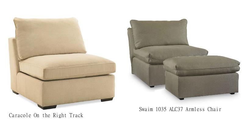 Armlesschair