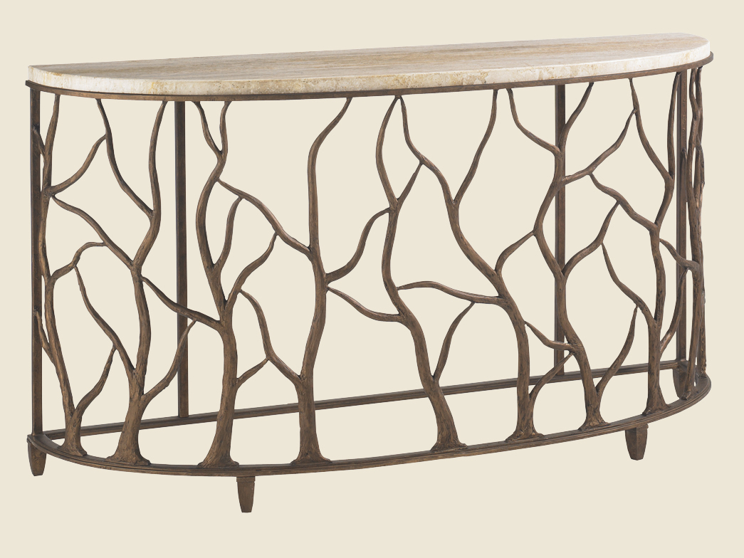 Bannister Garden Console Table from Lexington
