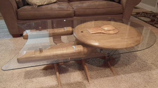 It might not be right for you, but someone loves this coffee table!