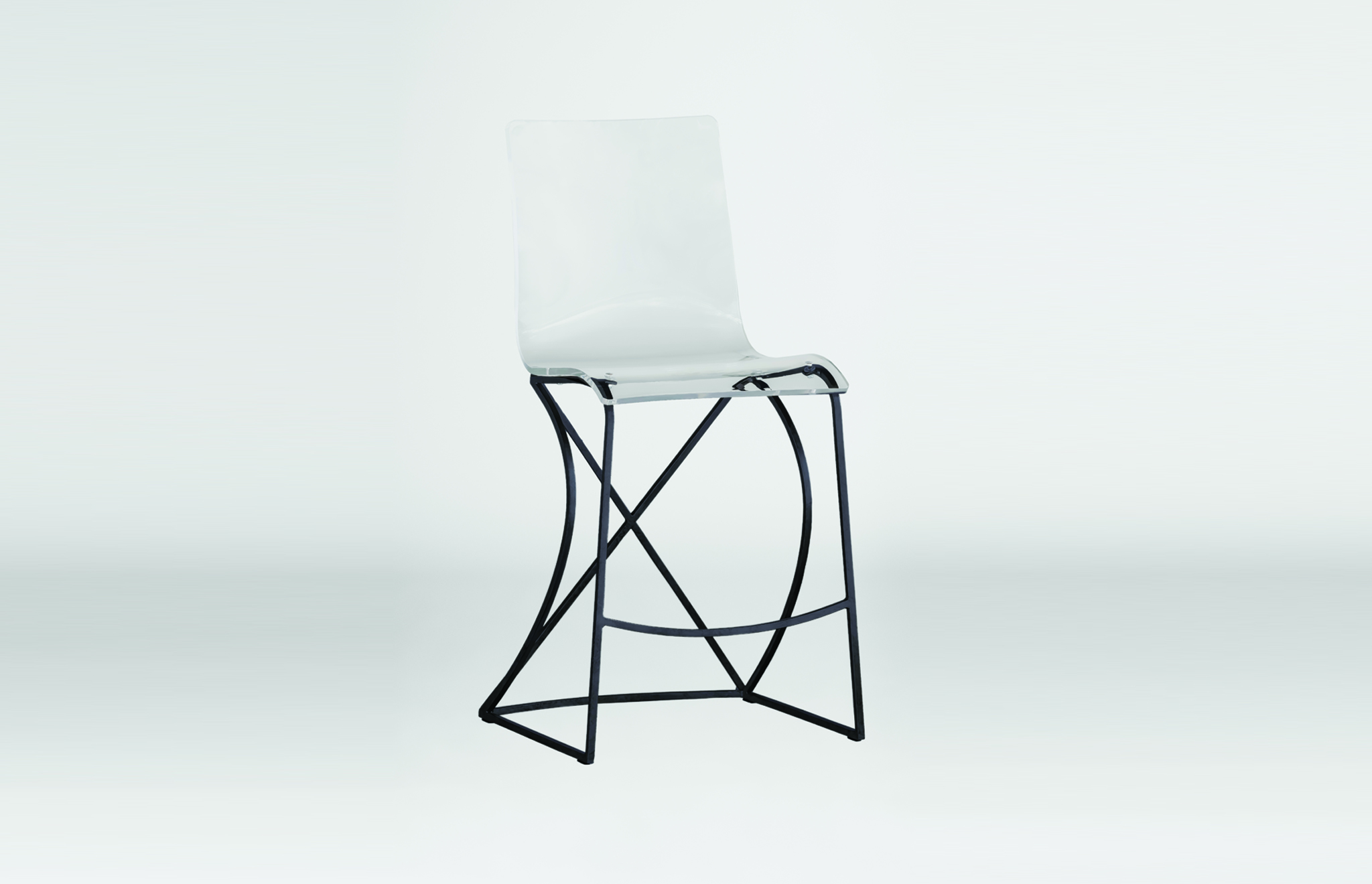 Johnson Counter Stool in black