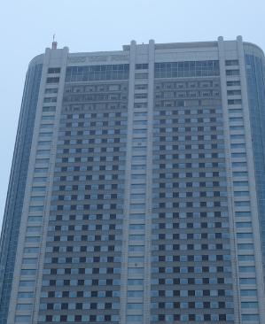 実は初めて。東京ドームホテル43階 アーティストカフェ