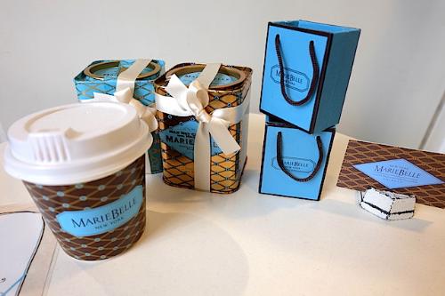 美味しいの〜♡    #mariebelle#newyork#chocolaterosetea