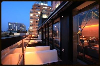 夜はこんなステキなテラス! #mercercafe#omotesando#terrace#restaurant#dinner