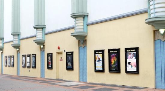 ノスタルジックな雰囲気の映画館 #culver#city#losangeles#pacific#theater#posters
