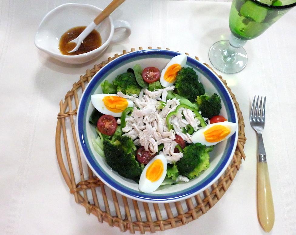 ある日の夕食サラダ♡ 今の旬野菜って?