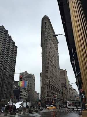 気温も天候も安定しなかったニューヨーク。。