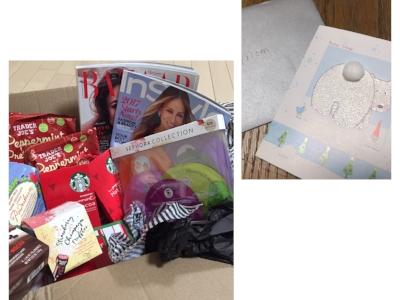 元旦の朝、この時期いつも一緒だった愛息から「Happy New Year Assorted gift」みたいな宝箱が届いた。うれし泣きのmomでした。。Thank you~~~💗