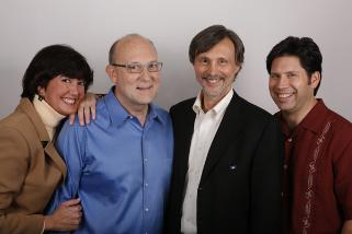 Heidi, Carl, Thom, and Paul