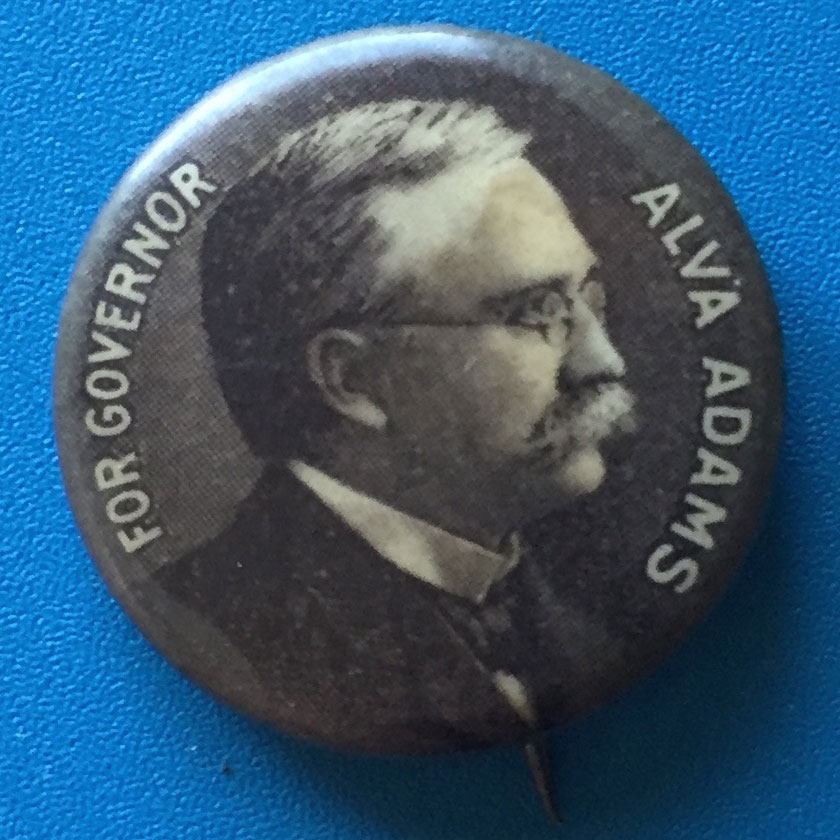 On one day – March 16, 1905 – Colorado had three different governors! Alva Adams was one of them. The state's 1904 election was one of the most corrupt in history, on both sides.