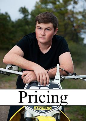 A&R Portraits Senior Price List