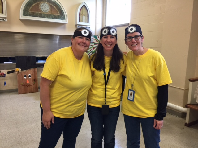 Our teachers are ALWAYS in on the fun and go the extra mile to make celebration days memorable for your child and your family!