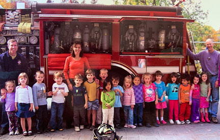 "My favorite PUNS memory is … ""when the fire truck came and we got to get on it."""