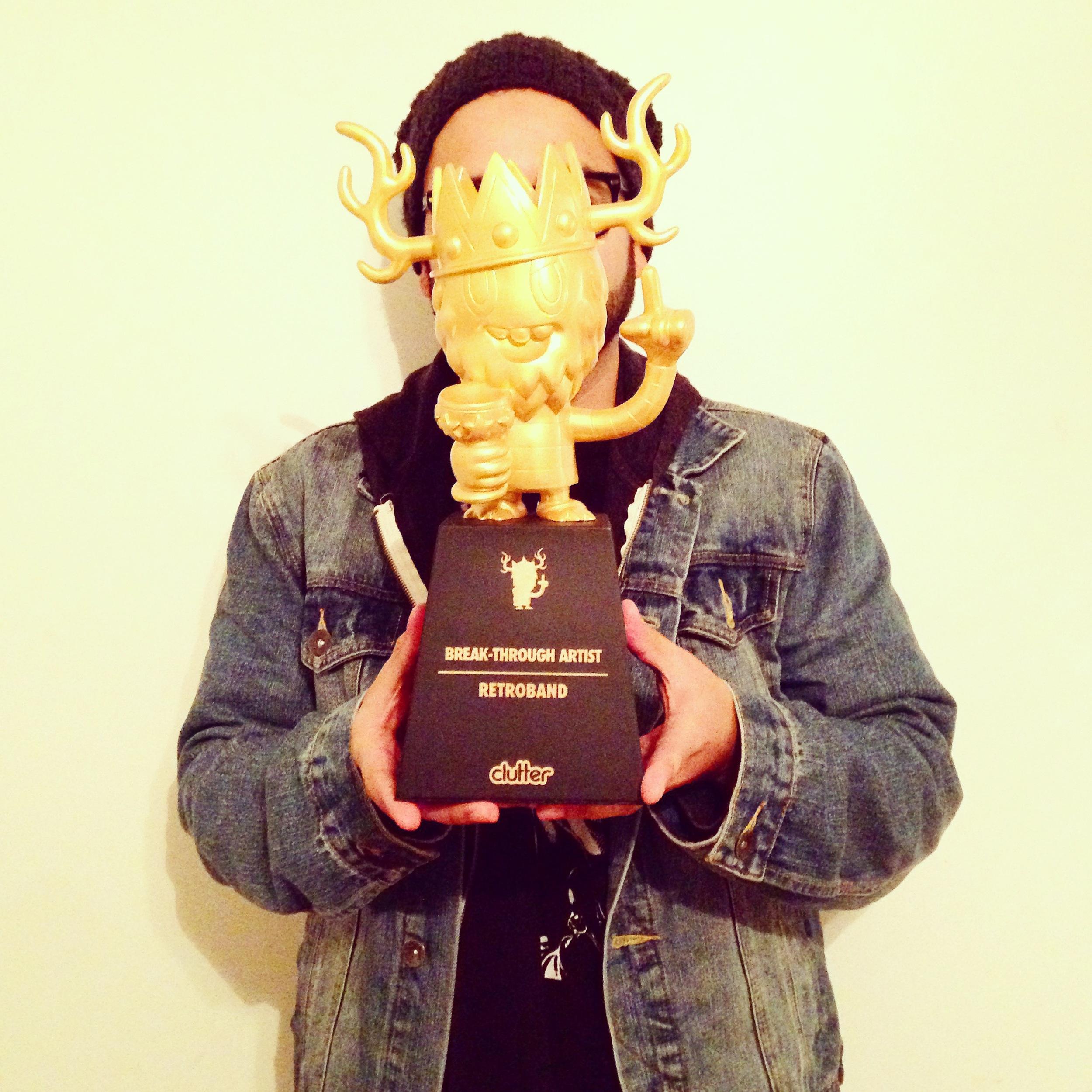 2014 Designer Toy Awards-Break Through Artist