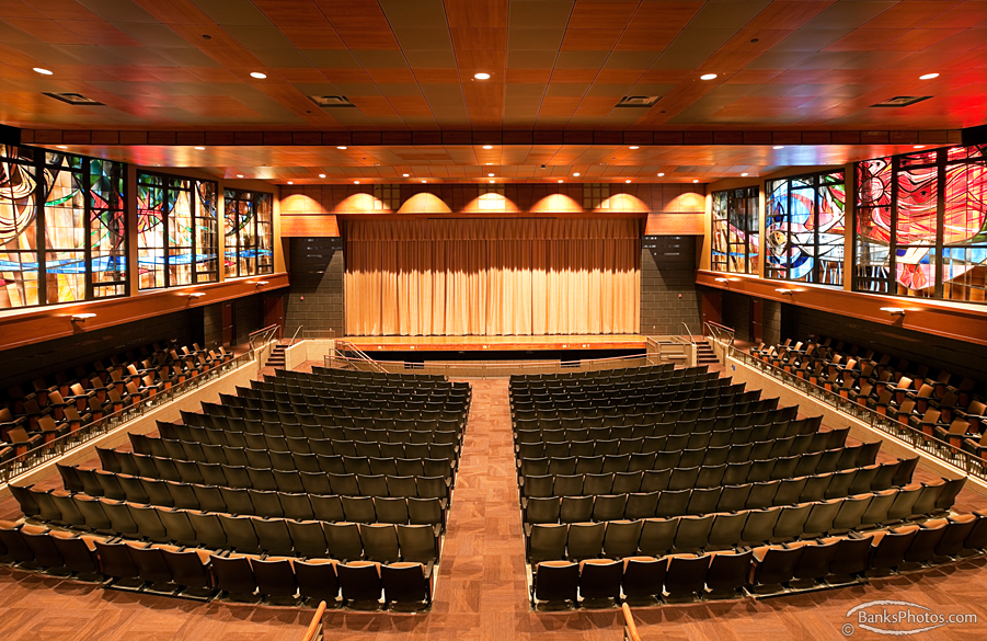 Lourdes High School Auditorium - Rochester, Minnesota - Weis Builders