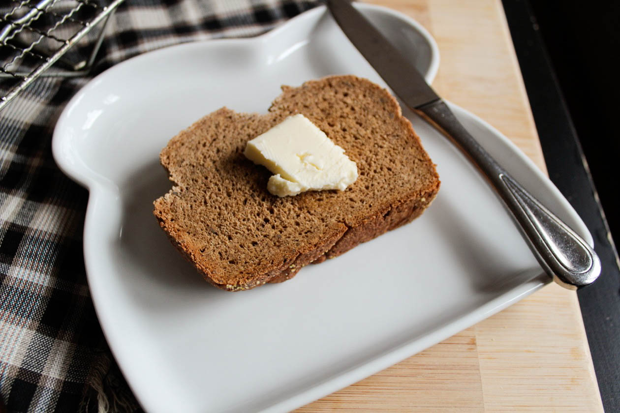 fancy pumpernickel bread