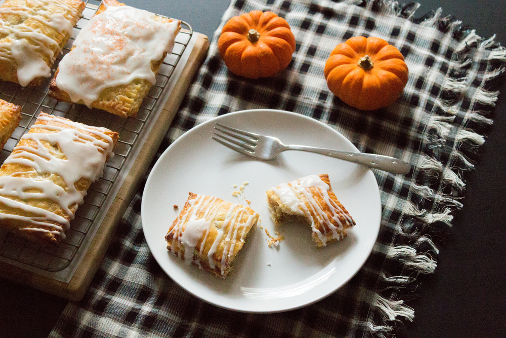 Pumpkin Almond Pop Tarts