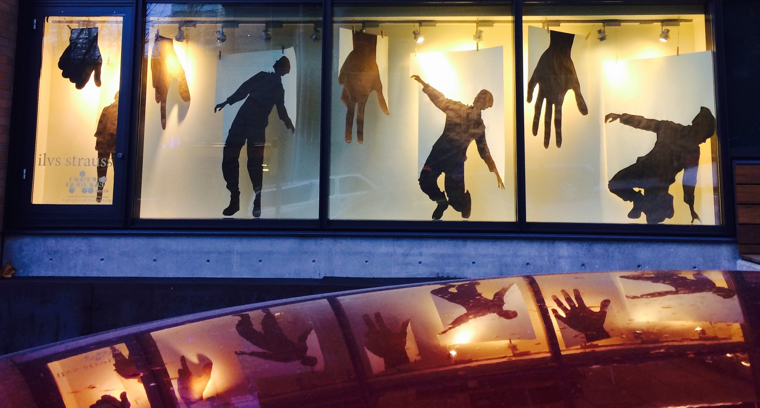 dea ex machina  -  Storefronts Seattle2016