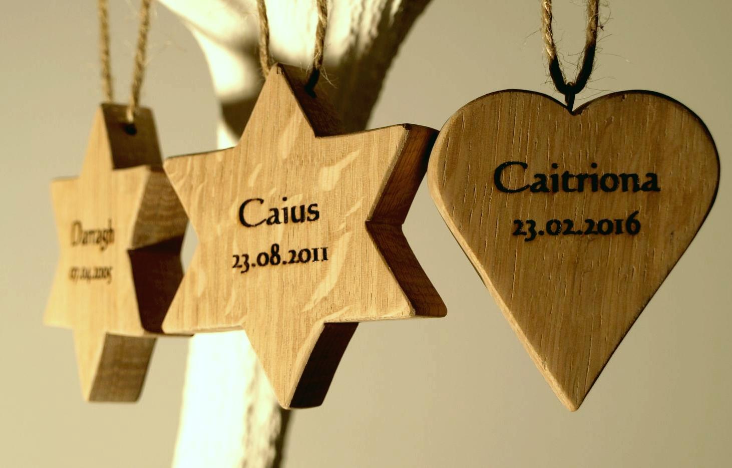 Personalised Hearts & Stars