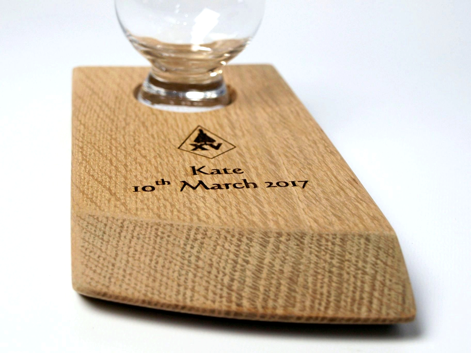 Personalised Single Glass Holder